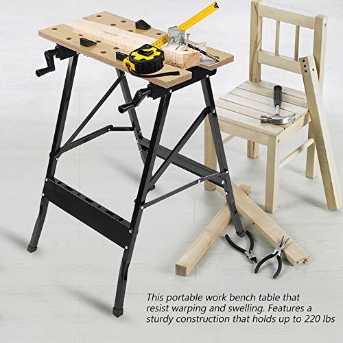 Mesa Trabajo Plegable Carpintería Resistente