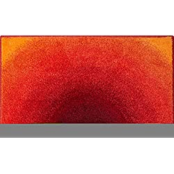 Grund Sunshine Tapis de Bain, Polyacrylique Supersoft, Orange, 70x120 cm