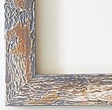 Wandspiegel Spiegel Badspiegel - Parma 4,0 - Grau - 60 x 80 - Außenmaß inkl. Massivholz-Rahmen - viele Größen verfügbar - Modern, Barock, Antik, Vintage