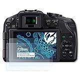Bruni Schutzfolie für Panasonic Lumix DMC-G6 Folie - 2 x glasklare Displayschutzfolie