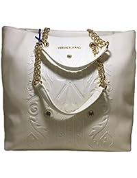 Versace Jeans - Bolso al hombro para mujer blanco BIANCO