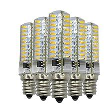 Lei ZE Jun UK Dimmable E125W 80LED 4014SMD 400–500Lm cálida blanca LED blanca fría de Silicagel) lámpara CA 110V/CA 220V (5pcs) E12led