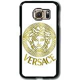 Versace Brand Logo Original Customized Design Samsung Galaxy S6 Edge Plus Funda Case Cover Ultra Slim Carcasa para Chico