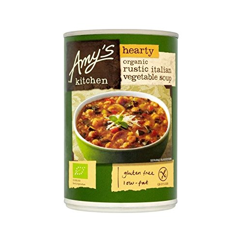 Rustikale Italienische (Amys Küche Herzhafte Rustikale Italienische Gemüsesuppe 397G - Packung mit 6)