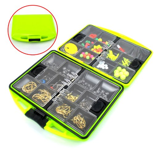 THKFISH Fishing Tackle Box Utility Box Haken Wirbels Angel-Zubehör-Box