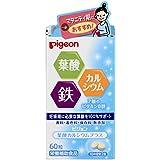 Pigeon Supplement Folic Acid Calcium Plus 60tablets (japan import)