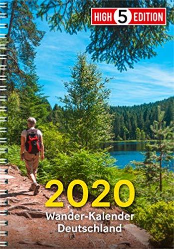 Wander-Kalender Deutschland 2020 (High 5 Edition HIKING / Produkte rund um's Wandern)
