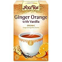 Yogi Tea - Ginger Orange with Vanilla - 30.6g