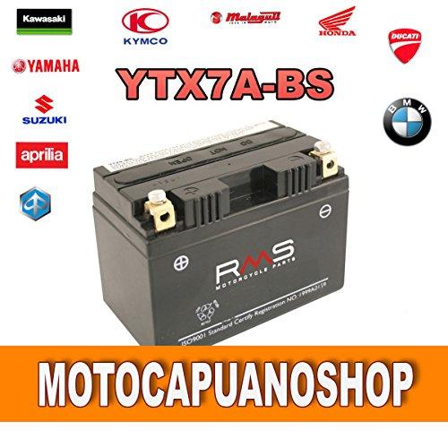 Batterie YTX7A-BS RMS SYM Jet Euro X E22T 50Jahr 20062007