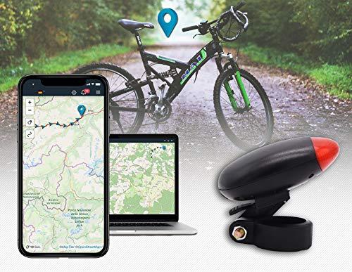 Salind GPS-Tracker Fahrrad, etwa 5 Tage Akkulaufzeit (bis zu 10 Tage im Standby Modus) Fahrrad Tracker - ABO VON 4,99 € / Monat ERFORDERLICH ...