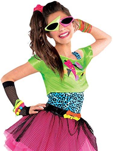 Girl Karneval Kostüm Totally Awesome , Mehrfarbig, Größe 152-164, 12-14 Jahre (20 Awesome Halloween-kostüme)
