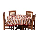 Chhipaprints Round Table Cover Roast Red...