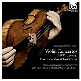 Concerto for two violins BWV 1043 in D Minor: III. Allegro