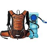 Miracol Mochila de hidratación con bolsa de agua de 2 litros - Paquete de aislamiento térmico...