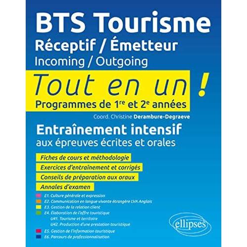 BTS Tourisme. Réceptif / Emetteur. Incoming / Outgoing.