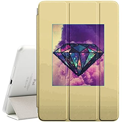 YOYOcovers [ FOR Apple iPad Mini 2 / 3 / 4 ] Smart Cover Automático Arriba / SueñoYOYOcovers [ FOR Apple iPad Mini 2 / 3 / 4 ] Smart Cover Automático Arriba / Sueño - Yellow Diamond Purple Poster