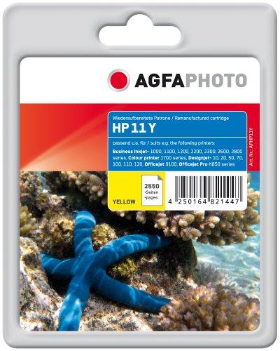 Preisvergleich Produktbild AgfaPhoto APHP11Y Tinte für HP BJ1100, 30 ml