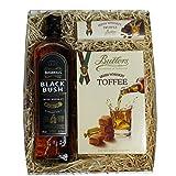 Geschenkpaket aus Irland mit Black Bush Whiskey.