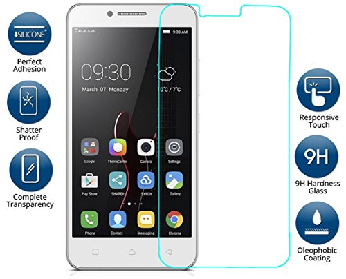 Kohinshitsu Platinum Series Screen Guard - Tempered Glass Screen Protector for Lenovo Vibe C - A2020 / Lenovo A2020 Mobile Phone 2016 Model