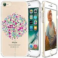 iPhone 7 Custodia,Apple iPhone 7 (4.7 inch) Custodia,Richoose iPhone 7 TPU [Slim Fit] Cancella TPU Gel Della Gomma Custodia Protettiva,Cassa del Respingente Crystal Clear Trasparente Custodia Protettiva per iPhone 7 4.7 inch - Palloncino