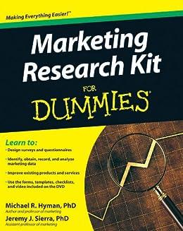 Marketing Research Kit For Dummies par [Hyman, Michael, Sierra, Jeremy]