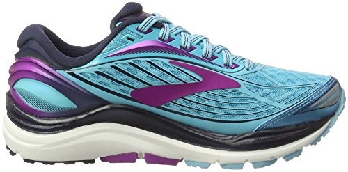 Brooks Transcend 4, Scarpe da Corsa Donna Blu (Bluefish/Peacoat/Purple Cactus Flower)