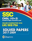 SSC (10+2) Solved Papers Combined Higher Secondary
