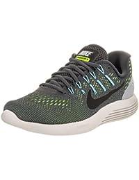 Nike Wmns Nike Lunarglide 8, WOLF GREY/GYM RED-BLACK, 7
