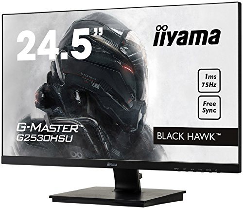 iiyama G2530HSU B1 245 G Master HD LED Gaming Monitor together with FreeSync and USB Black Products