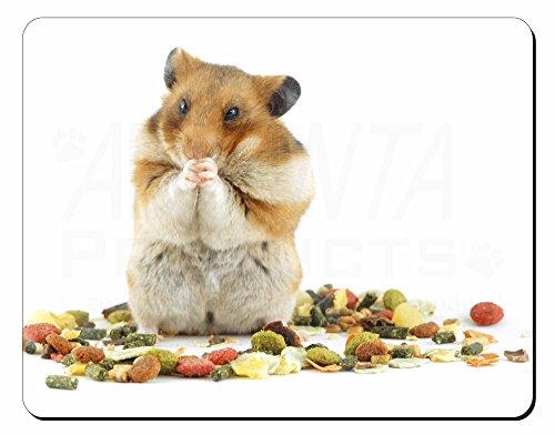 Lunch Box Hamster Computer-Maus -Matte / pad Weihnachtsgeschenk