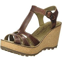 FLY London Gold - Zapatos para mujer, Marrón, EU 41