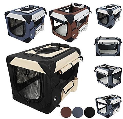 WOLTU HT2059sz5 Oxford Cage pour chien,Caisse de transport pliable pour