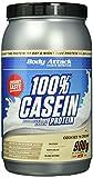 Body Attack 100% Casein Protein Cookies & Cream, 1er Pack (1 x 900 g)