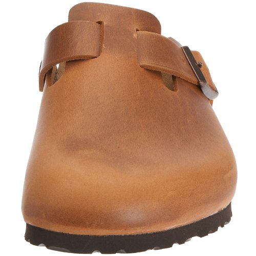 Birkenstock Boston 760893, Chaussures mixte adulte Antique/Marron