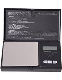 TOOGOO (R) BALANCE DE POCHE ELECTRONIQUE PRECISION 0.01-300 GRAMME 6 UNITES