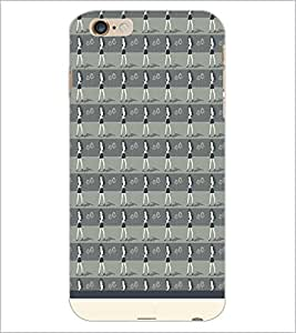PrintDhaba Girl Pattern D-1530 Back Case Cover for APPLE IPHONE 6 PLUS (Multi-Coloured)