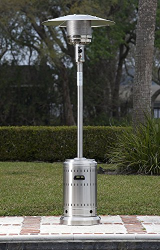 AmazonBasics Stainless Steel Commercial Patio Outdoor Heater