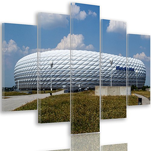 feeby-multipart-canvas-5-panels-wall-art-picture-image-printed-on-canvas-type-a-100x70-cm-stadium-fo