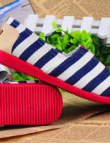 ZQ DONNE - Mocassini - Comoda/Moccasino/Punta arrotondata/Chiusa - Piatto Di corda - Blu/Rosso , blue-us8.5 / eu39 / uk6.5 / cn40 , blue-us8.5 / eu39 / uk6.5 / cn40 red-us6 / eu36 / uk4 / cn36