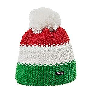 Eisbär Kinder Star Pompon Mütze