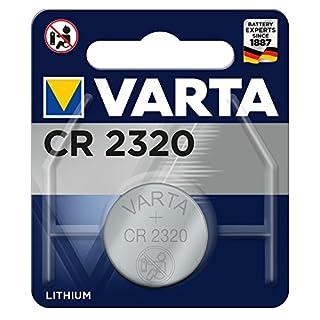 Varta CR2320 Lithium Knopfzelle (3V, 135mAh)