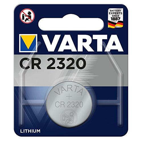 Varta CR2320 Lithium Knopfzelle (3V, 135mAh) 3n Lithium-batterie