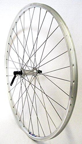 felgen 19 28 Zoll Fahrrad Laufrad Vorderrad Hohlkammerfelge CUT 19 Shimano Deore 610 silber für V-Brakes/Felgenbremse