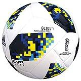 adidas World Cup KO Top Glider Fußball Bälle, Weiß/Blau, 5