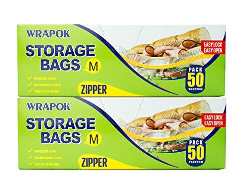 Wrapok alimentos almacenamiento bolsas almacenamiento