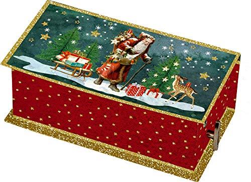 Spieluhr mit Aufbewahrungsfach Stille Nacht Heilige Nacht 13,5x7x5,5cm