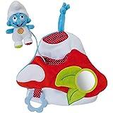 Schtroumpfs 022121 - Seta de actividades para bebé, diseño Los Pitufos