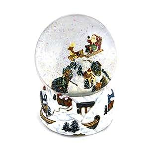 spieluhr mit schneekugel weihnachtszug 47089 spielzeug. Black Bedroom Furniture Sets. Home Design Ideas