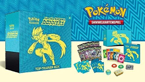Pokémon Sonne Mond 8 Echo des Donners Top Trainer Box Deutsch