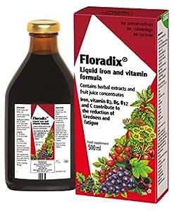 Floradix Liquid Iron and Vitamin Formula  500ml